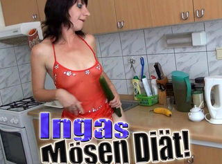 """Vorschaubild vom Privatporno mit dem Titel """"Ingas Mösen Diät!"""""""