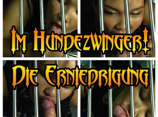 """Vorschaubild vom Privatporno mit dem Titel """"Im hundezwinger! Die Erniedrigung!"""""""