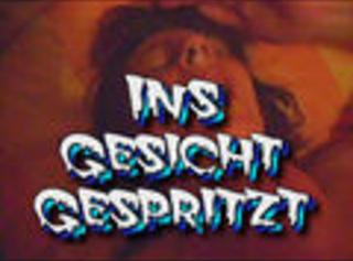 """Vorschaubild vom Privatporno mit dem Titel """"Im Gesicht gespritzt"""""""