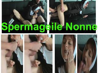 """Vorschaubild vom Privatporno mit dem Titel """"Böse Nonne Fickt zum 1 mal mit geilen Cumshot"""""""