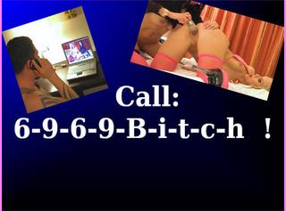 """Vorschaubild vom Privatporno mit dem Titel """"CALL: 6-9-6-9-B-i-t-c-h"""""""