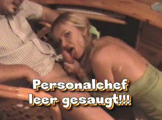 """Vorschaubild vom Privatporno mit dem Titel """"Personalchef - leer gesaugt!"""""""