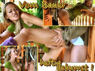"""Vorschaubild vom Privatporno mit dem Titel """"Vom Bauer heftig gebumst!"""""""