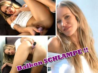 """Vorschaubild vom Privatporno mit dem Titel """"Balkonschlampe!"""""""