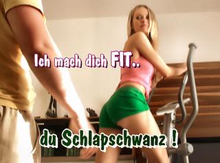 """Vorschaubild vom Privatporno mit dem Titel """"Ich mach dich FIT du Schlapschwanz!"""""""