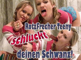 """Vorschaubild vom Privatporno mit dem Titel """"RotzFrecher Teeny schluckt deinen Schwanz!"""""""