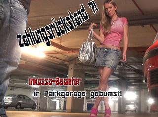 """Vorschaubild vom Privatporno mit dem Titel """"Zahlungsrückstand Inkasso-Beamter in Parkhaus gebumst!!!"""""""