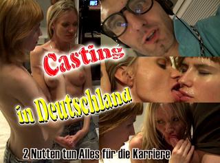 """Vorschaubild vom Privatporno mit dem Titel """"Casting in Deutschland! 2 Teeny Nutten tun alles für die Karriere!"""""""