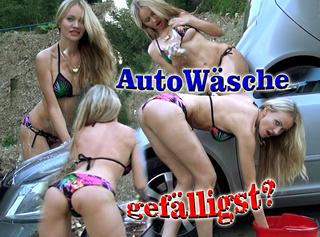 """Vorschaubild vom Privatporno mit dem Titel """"Autowäsche gefälligst?"""""""