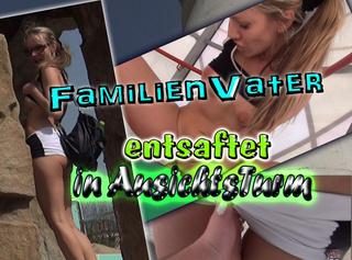 """Vorschaubild vom Privatporno mit dem Titel """"Familien-Vater in Aussichtsturm entsaftet!"""""""