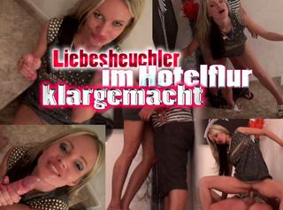 """Vorschaubild vom Privatporno mit dem Titel """"Liebes Heuchler im Hotelflur klargemacht!"""""""