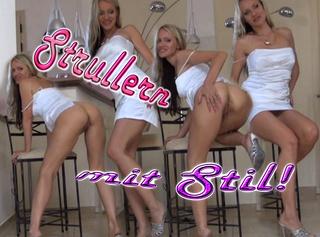 """Vorschaubild vom Privatporno mit dem Titel """"Strullern mit Stil!"""""""