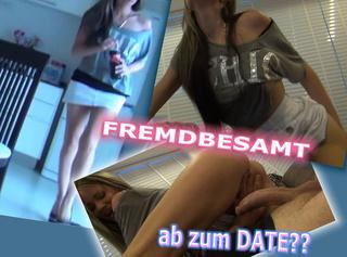 """Vorschaubild vom Privatporno mit dem Titel """"Fremdbesamt ab zum Date??"""""""