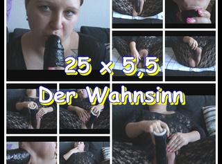 """Vorschaubild vom Privatporno mit dem Titel """"25 x 5,5 Der Wahnsinn"""""""