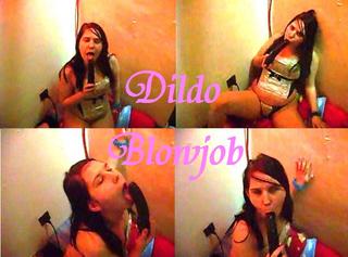 """Vorschaubild vom Privatporno mit dem Titel """"Dildo Blowjob"""""""