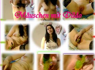 """Vorschaubild vom Privatporno mit dem Titel """"Mäuschen mit Dildo"""""""