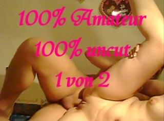 """Vorschaubild vom Privatporno mit dem Titel """"100% Amateur 100% uncut 1 von 2"""""""