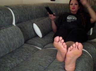 """Vorschaubild vom Privatporno mit dem Titel """"Mein Fußsklave"""""""