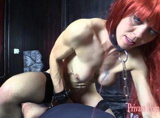 """Vorschaubild vom Privatporno mit dem Titel """"Angelina beim BDSM Sklaven-Casting - Teil 4 von 4"""""""