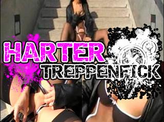 """Vorschaubild vom Privatporno mit dem Titel """"HARTER TREPPENFICK / OUTDOOR"""""""