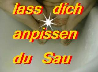 """Vorschaubild vom Privatporno mit dem Titel """"Lass Dich anpissen"""""""
