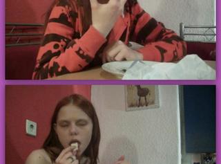 """Vorschaubild vom Privatporno mit dem Titel """"Sindy ist Camembert für den User assitoni19"""""""