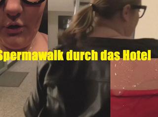 """Vorschaubild vom Privatporno mit dem Titel """"Spermawalk durch das Hotel"""""""