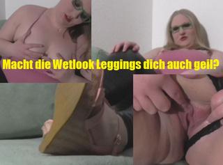"""Vorschaubild vom Privatporno mit dem Titel """"Macht die Wetlook Leggings dich auch so geil?"""""""