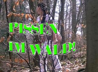 """Vorschaubild vom Privatporno mit dem Titel """"Pissen im Wald!"""""""