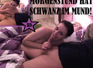 """Vorschaubild vom Privatporno mit dem Titel """"Morgenstund hat Schwanz im Mund!"""""""
