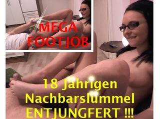 """Vorschaubild vom Privatporno mit dem Titel """"Fußgeilen 18 Jährigen Nachbarslümmel entsaftet!"""""""