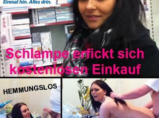 """Vorschaubild vom Privatporno mit dem Titel """"Schlampe erfickt sich kostenlosen Einkauf!!"""""""