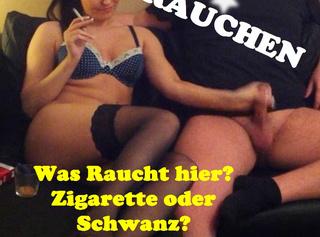 """Vorschaubild vom Privatporno mit dem Titel """"AbgeWICHSTE Zigarettenlänge!!! (Rauchen)"""""""