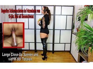 """Vorschaubild vom Privatporno mit dem Titel """"XL Lampen-Ständer zerfickt, Sperma Face XXL Auge zugekleistert"""""""