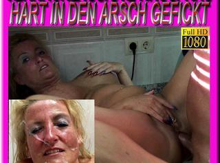 """Vorschaubild vom Privatporno mit dem Titel """"Vernachlässigte Hausfrau hart in den Arsch gefickt"""""""