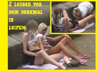 """Vorschaubild vom Privatporno mit dem Titel """"2 Girls vor dem Völkerschlachtdenkmal"""""""