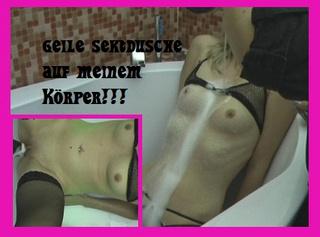 """Vorschaubild vom Privatporno mit dem Titel """"Geile Sektdusche in meine Fotze"""""""