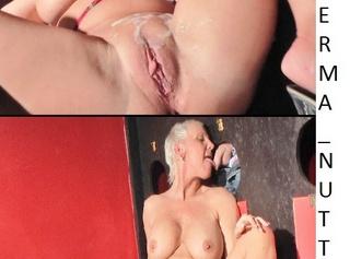 """Vorschaubild vom Privatporno mit dem Titel """"SPERMANUTTE im PORNOKINO"""""""