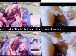 """Vorschaubild vom Privatporno mit dem Titel """"SKANDAL in der öffentlichkeit beim BLASEN ERWISCHT worden.."""""""